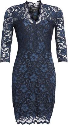 Karen Kane Scalloped Lace Sheath Dress