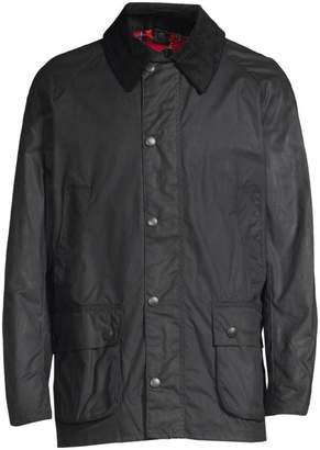 62d1a2454 Mens Barbour Waxed Jackets Navy - ShopStyle UK
