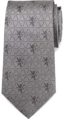 Cufflinks Inc. Game of Thrones Lannister Geometric Sigil Silk Tie