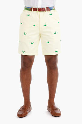 Gents Castaway Clothing Spouty Whale Cisco Embroidered Shorts