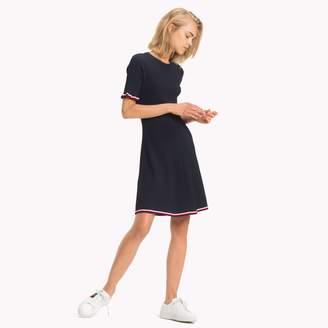 Tommy Hilfiger Tommy  Stripe Ruffle Dress
