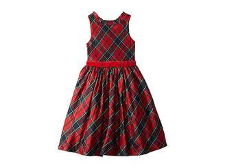 Janie and Jack Ruffle Collar Dress (Toddler/Little Kids/Big Kids)