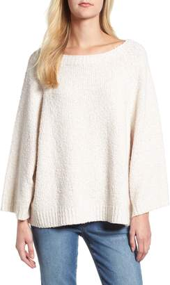 Lou & Grey Ribbed Boat Neck Sweater