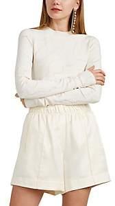 Helmut Lang Women's Textured Jacquard-Knit Top - White