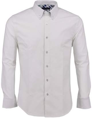 Lords of Harlech - Morris Shirt In White Oxford