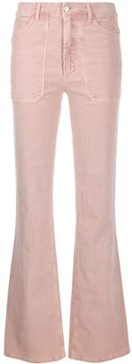Zadig & Voltaire Zadig&Voltaire high-waisted flared trousers