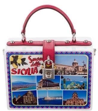 Dolce & Gabbana 2015 Souvenir Della Sicilia Box Bag