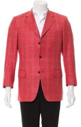 Canali Wool & Silk-Blend Blazer