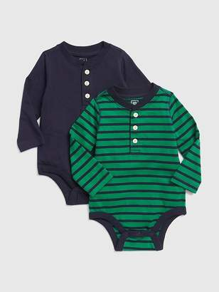 Gap Henley Pocket Bodysuit (2-Pack)