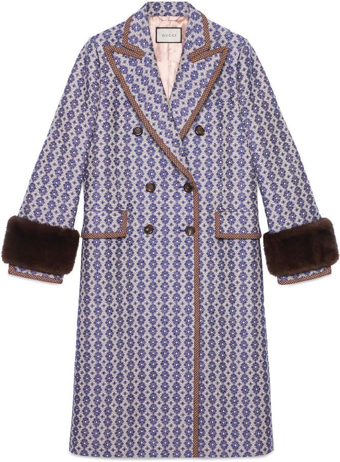Vintage argyle coat