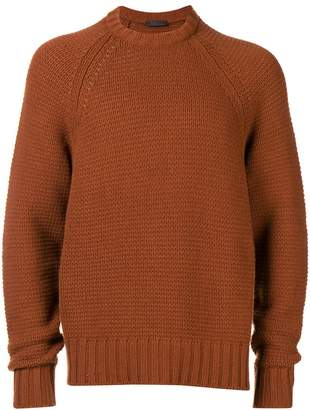 Prada long-sleeve fitted sweater