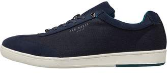 Ted Baker Mens Kiefer Trainers Dark Blue