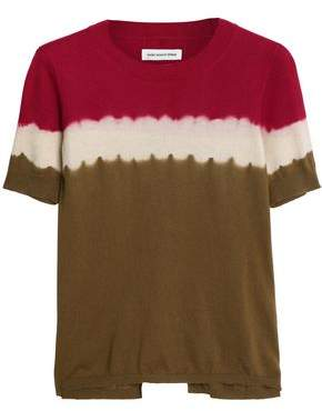 Etoile Isabel Marant Tie-Dyed Cotton And Cashmere-Blend T-Shirt