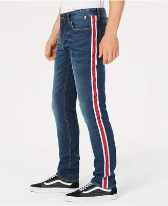 American Rag Men's Slim-Fit Side-Stripe Jeans