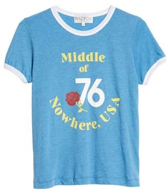 Wildfox Couture Johnny Ringer Nowhere Tee