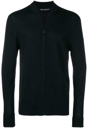 Neil Barrett zip front cardigan