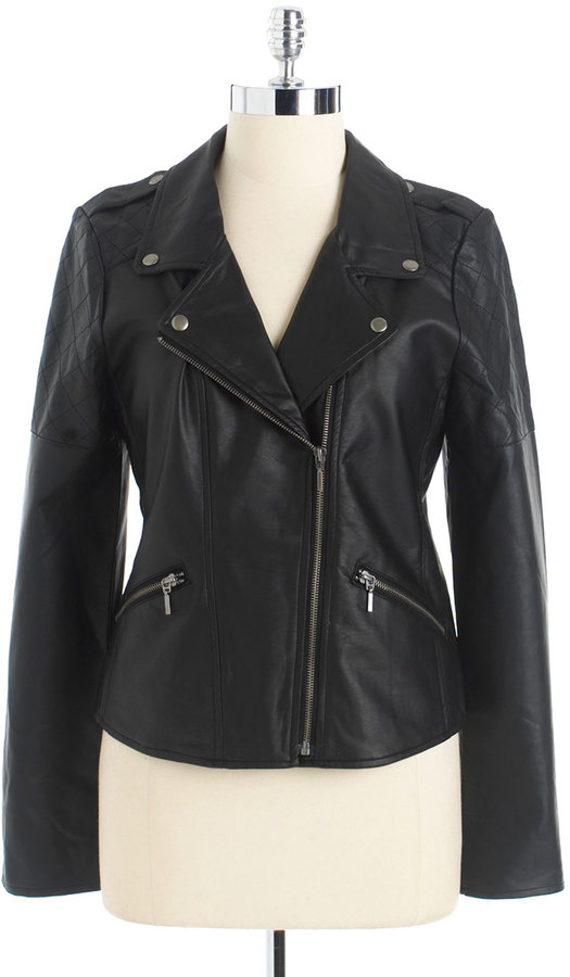 SANCTUARY Faux Leather Jacket
