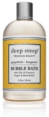 Deep Steep Grapefruit & Bergamot Bubble Bath - 17oz