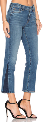 J Brand Selena Mid Rise Crop Boot $198 thestylecure.com