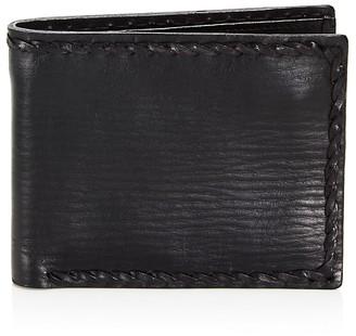 John Varvatos Star USA Braided Edge Slim Folding Wallet $98 thestylecure.com