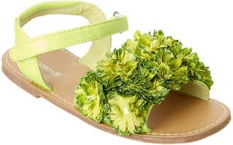 L'amour Glitter Flower Sandal