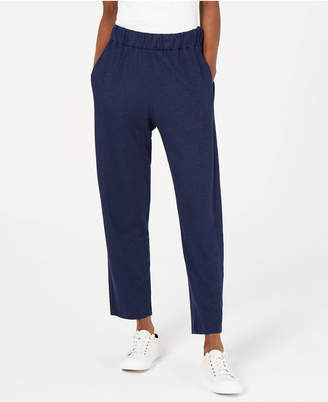 Eileen Fisher Organic Pull-On Tapered Pants, Regular & Petite