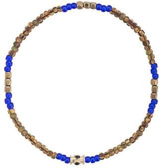 Luis Morais small blue sapphire barrel bracelet