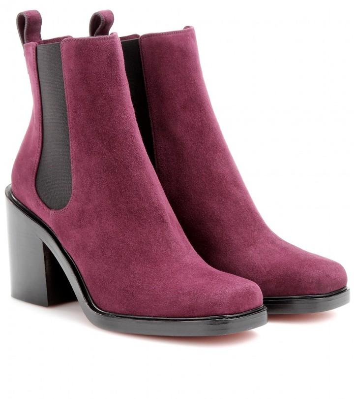 Givenchy Adriana suede ankle boots