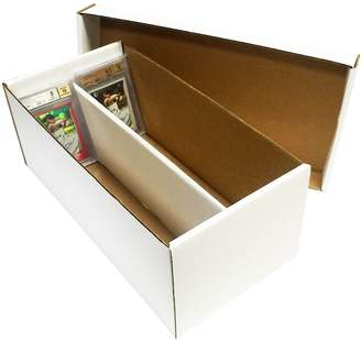 Max Protection Graded Shoe 2-Row Cardboard Storage Boxes - Baseball, Football, Basketball, Hockey, Nascar, Sportscards, Gaming & Trading Cards Collecting Supplies by MAX PRO - GSB