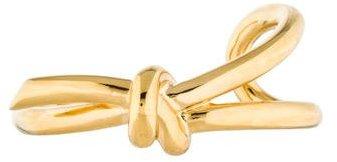 Balenciaga Balenciaga Asymmetric Bow Cuff