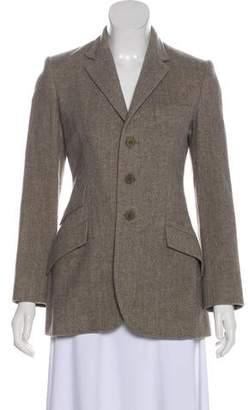 Ralph Lauren Black Label Wool Herringbone Jacket
