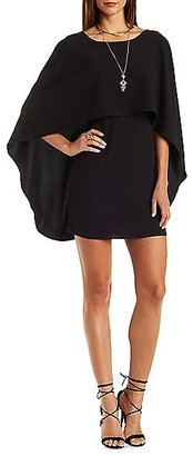 Backless Caped Shift Dress $29.99 thestylecure.com