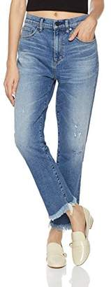 HALE Women's Tyler Sweetheart Boyfriend Jean with Step Hem