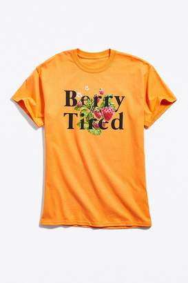Urban Outfitters Berry Tired Tee