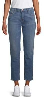 J Brand Johnny Mid-Rise Boyfriend-Fit Jeans