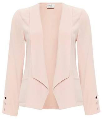 Wallis Petite Blush Button Blazer