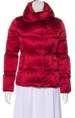 Burberry Mock Neck Puffer Jacket