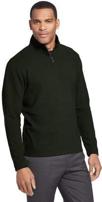 Van Heusen Men's Ottoman Flex Quarter-Zip Knit Top