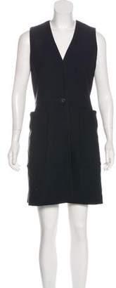 Rag & Bone Silk-Blend Mini Dress