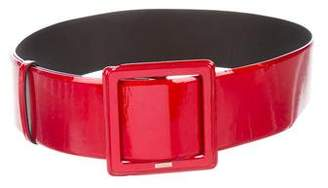 Chanel Patent Leather Waist Belt