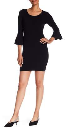 A.L.C. Samara Bell Sleeve Wool Blend Dress