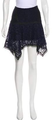 Veronica Beard Knee-Length Asymmetrical Skirt