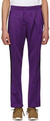 Needles Purple Narrow Track Pants