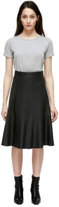 Mackage Fleur Leather Circle Skirt