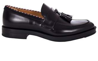 Gucci Leather Tassel Loafer