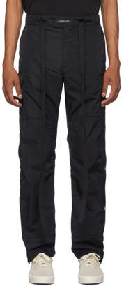 Fear Of God Navy Nylon Snap Cargo Pants