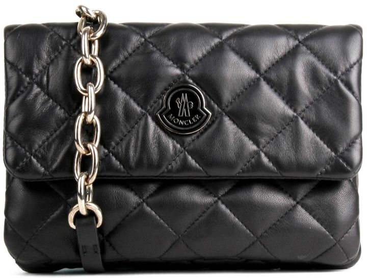 MonclerMoncler Black Quilted Purse Poppy 999