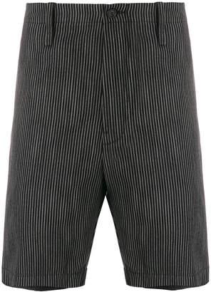 Mauro Grifoni chalk stripe shorts