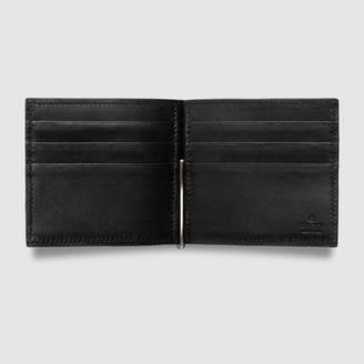 Gucci Lizard money clip wallet