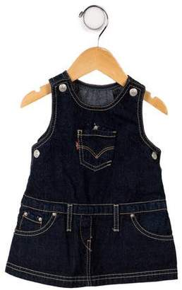 Levi's Infant Girls' Sleeveless Denim Dress w/ Tags